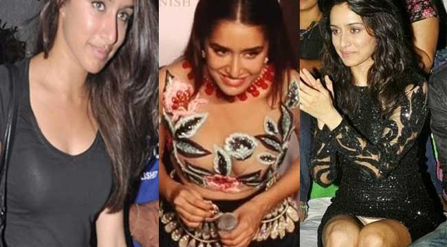 Oops for Shraddha Kapoor