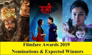 Filmfare awards 2019 nominations and expected winners