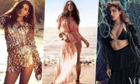 Sara Ali Khan's Hot Photoshoot For Vogue Megazine