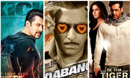 Salman Khan blockbusters released on Eid