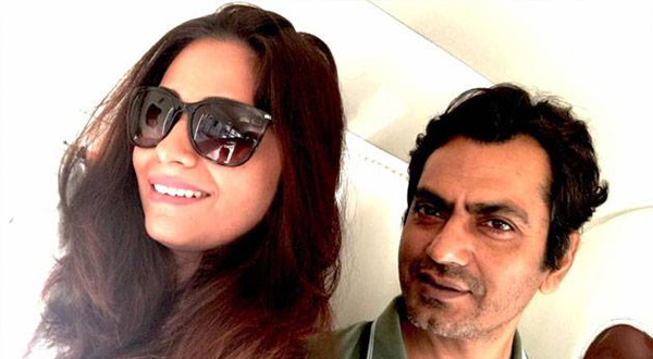 Nawazuddin Siddiqui with ex wife Sheeba