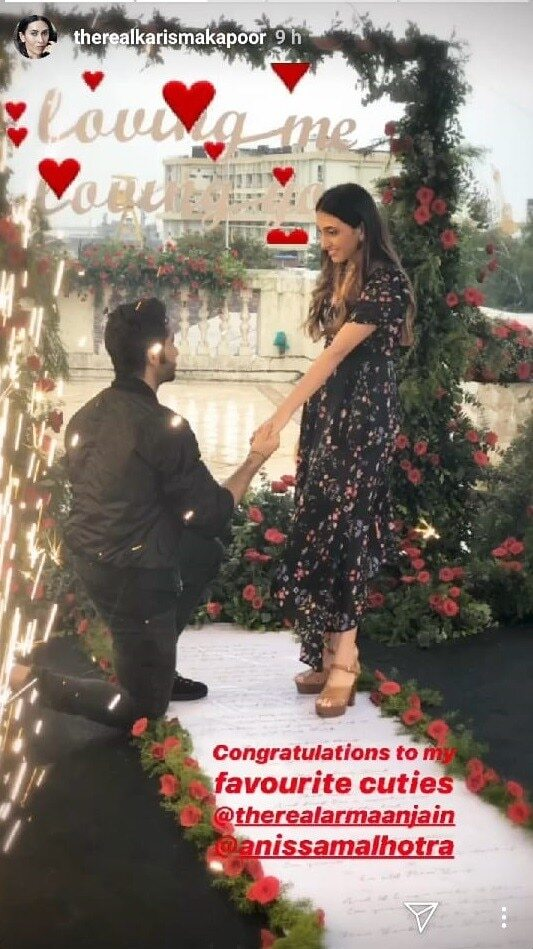 Armaan Jain engaged to girlfriend Anissa