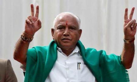 BS Yeddyurappa will take oath as Karnataka CM at 6 pm today