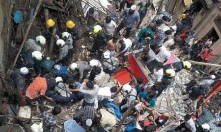 Building collapses in Mumbai: 5 dead, 40 feared to be trapped, rescue operation underway