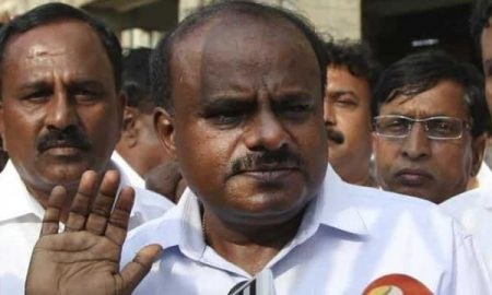 Kumaraswamy government loses support from the minister and independent MLA H Nagesh