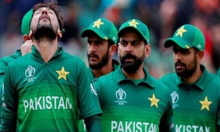 Pakistan almost out of ICC world cup 2019
