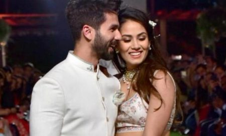 Shahid Kapoor and Mira Rajput celebrates their 4th anniversary