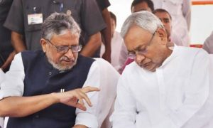 Sushil Modi denies rift with CM Nitish Kumar, says we're together