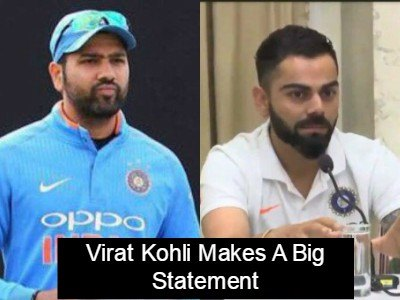 Virat Kohli Finally Breaks His Silence On Alleged Spat With Rohit Sharma