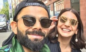 Virat Kohli and Anushka Sharma chilling out together before World cup semi-final