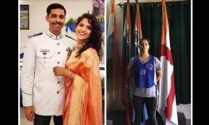 Wife of the martyred pilot joins Indian Air Force to honour her husband