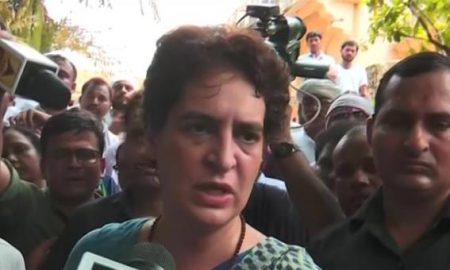"""I'll Be Back"", Says Priyanka Gandhi After Meeting Sonbhadra Shootout Victims"