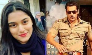 Mahesh Manjrekar's daughter, Saiee to romance Salman in Dabangg 3