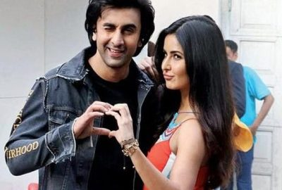 Ex-lovers Katrina Kaif & Ranbir Kapoor reunite for an ad campaign