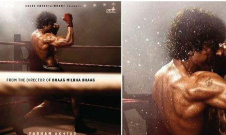 'Toofan' first look revealed: Farhan looks like a boxer with a plan