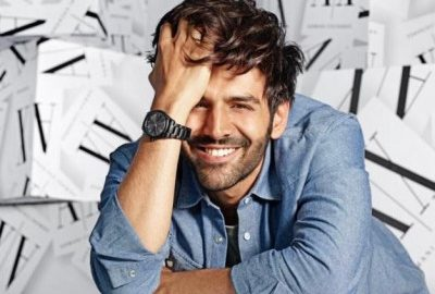 Kartik Aaryan: The new face of Armani Exchange