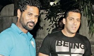 Salman and Prabhu Deva
