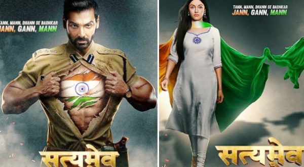 Satyamev Jayate 2 First Look: John Abraham and Divya Khosla Kumar look convincing as 'deshbhakts'